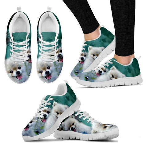Scott Cumbers's Cute Dog Print Running Shoe (Women) - Free Shipping-Paww-Printz-Merchandise