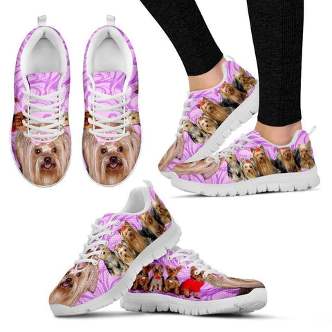 Group Yorkshire Dogs Running Shoes For Women-Free Shipping-Paww-Printz-Merchandise