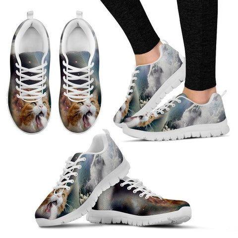 Limited Edition Women's Sneaker Shoes.-Paww-Printz-Merchandise