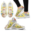 Selkirk Rex Christmas Running Shoe For Women- Free Shipping-Paww-Printz-Merchandise