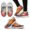 Cherry Barb Fish Print Christmas Running Shoes For Women- Free Shipping-Paww-Printz-Merchandise