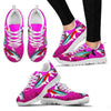 Neon Tetra Fish Print Christmas Running Shoes For Women- Free Shipping-Paww-Printz-Merchandise