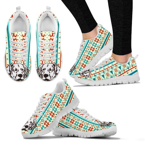 Labrador Retriever Christmas Running Shoes For Women- Free Shipping-Paww-Printz-Merchandise