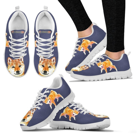 Amazing Shiba Inu Dog-Women's Running Shoes-Free Shipping-Paww-Printz-Merchandise