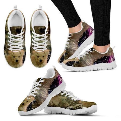 Dylan Smith/ Dog Print Shoe For Women- Free Shipping-Paww-Printz-Merchandise