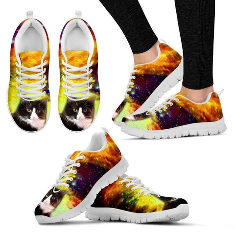 Lysa Marie Houde-Cat Running Shoes For Women-Free Shipping-Paww-Printz-Merchandise