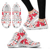 Kunekune Pig Print Christmas Running Shoes For Women- Free Shipping-Paww-Printz-Merchandise