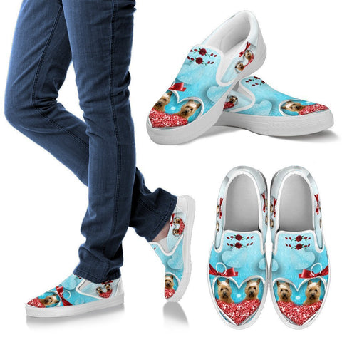 Valentine's Day Special-Cairn Terrier Print Slip Ons For Women-Free Shipping-Paww-Printz-Merchandise