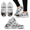 Trakehner Horse Print Christmas Running Shoes For Women-Free Shipping-Paww-Printz-Merchandise