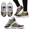 Senegal Parrot Print Christmas Running Shoes For Women-Free Shipping-Paww-Printz-Merchandise