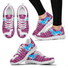 Cute Dachshund Print Christmas Running Shoes For Women-Free Shipping-Paww-Printz-Merchandise