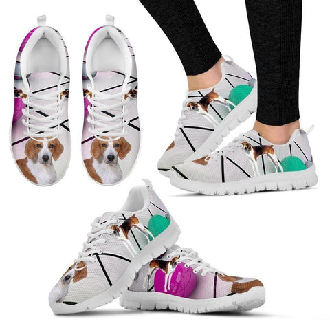 American Foxhound Dog Running Shoes For Women-Free Shipping-Paww-Printz-Merchandise