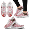 Peruvian Paso Horse Christmas Running Shoes For Women- Free Shipping-Paww-Printz-Merchandise