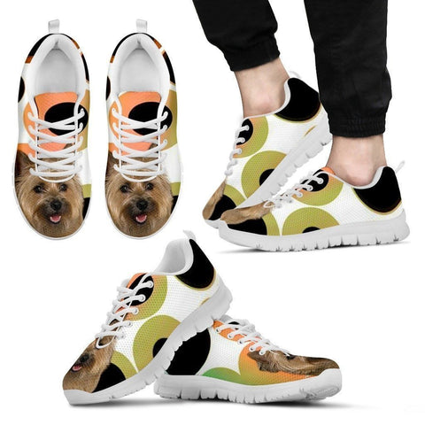 Cairn Terrier Dog Running Shoes For Men-Free Shipping-Paww-Printz-Merchandise