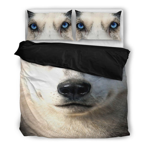 Amazing Siberian Husky Bedding Set- Free Shipping