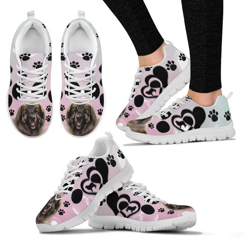 Valentine's Day Special-Leonberger Dog Print Running Shoes For Women-Free Shipping-Paww-Printz-Merchandise