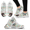 Marwari Horse Christmas Running Shoes For Women- Free Shipping-Paww-Printz-Merchandise
