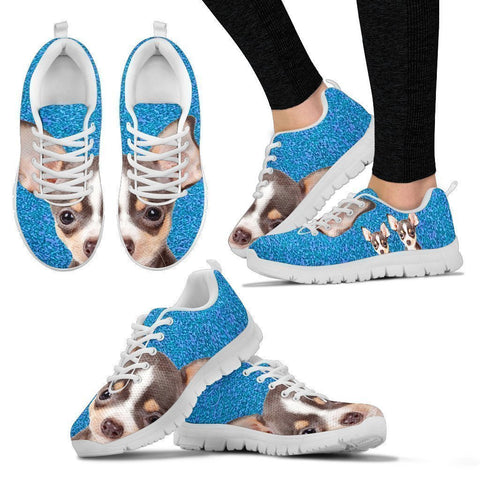 Amazing Chihuahua Print Running Shoes For Women-Free Shipping-Paww-Printz-Merchandise