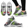 Military Macaw Parrot Print Christmas Running Shoes For Women-Free Shipping-Paww-Printz-Merchandise