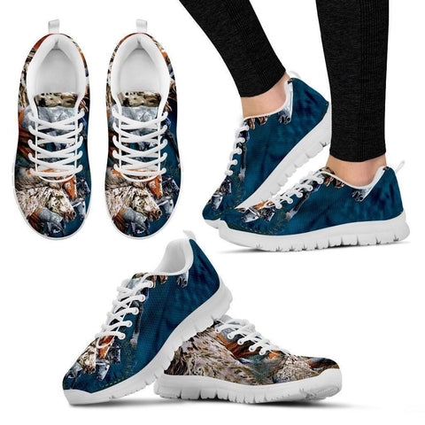 Horse Group-Men And Women's Running Shoes-Free Shipping-Paww-Printz-Merchandise