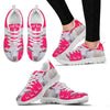 Charolais Cattle Cow Christmas Running Shoes For Women- Free Shipping-Paww-Printz-Merchandise