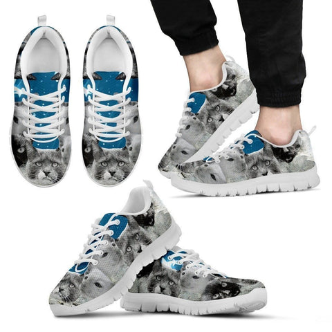 Rushmore Cats Running Shoes For Men-Free Shipping-Paww-Printz-Merchandise
