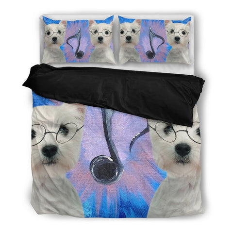 West Highland White Terrier (Westie) Bedding Set- Free Shipping
