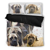 Amazing English Mastiff Print Bedding Set- Free Shipping