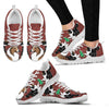 Shetland Sheepdog Print Christmas Running Shoes For Women-Free Shipping-Paww-Printz-Merchandise