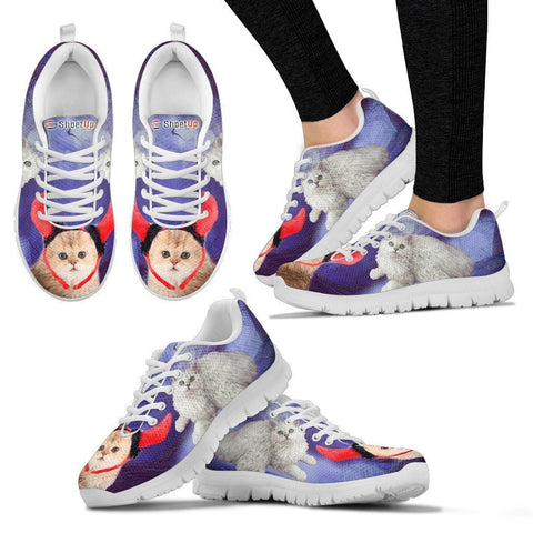 Selkirk Rex Cat (Halloween) Print-Running Shoes For Women-Free Shipping-Paww-Printz-Merchandise