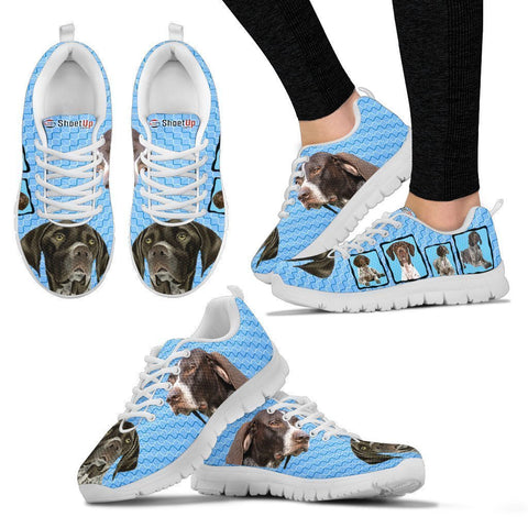 Amazing German Shorthaired Pointer  Dog-Women's Running Shoes-Free Shipping-Paww-Printz-Merchandise