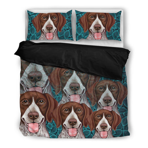 Amazing German Shorthaired (Pointer) Print Bedding Set- Free Shipping