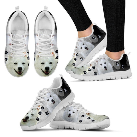 Cute American Eskimo Shoe For Women- Free Shipping-Paww-Printz-Merchandise
