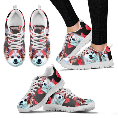 Amazing Cartoonized Dog Running Shoes For Women-Designed By Sandy Hunter-Express Shipping-Paww-Printz-Merchandise