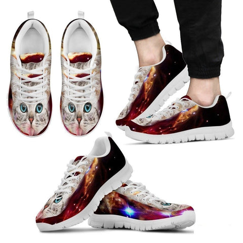 Hungry Cat-Men's Running Shoes-Free Shipping-Paww-Printz-Merchandise