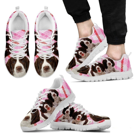 English Springer Spaniel-Dog Running Shoes For Men-Free Shipping Limited Edition-Paww-Printz-Merchandise