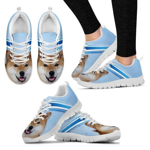 Akita Dog Running Shoes For Women-Free Shipping-Paww-Printz-Merchandise