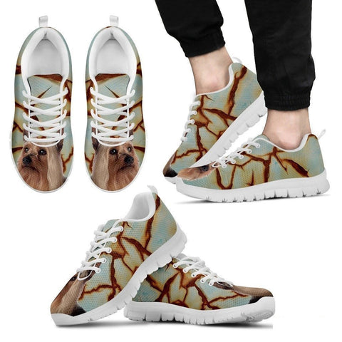 Silky Terrier Dog Running Shoes For Men-Free Shipping-Paww-Printz-Merchandise