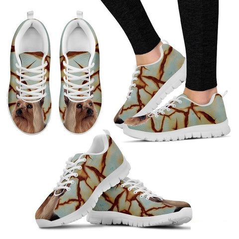 Silky Terrier Dog Running Shoes For Women-Free Shipping-Paww-Printz-Merchandise