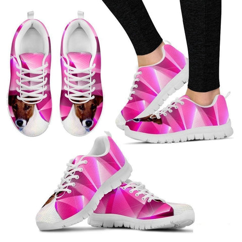 Smooth Fox Terrier Dog Running Shoes For Women-Free Shipping-Paww-Printz-Merchandise