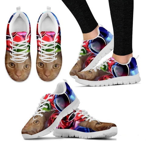 Amber Schneider/Cat-Running Shoes For Women-3D Print-Free Shipping-Paww-Printz-Merchandise