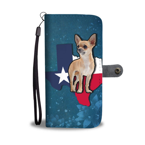 Cute Chihuahua Dog Print Wallet Case-Free Shipping-TX State
