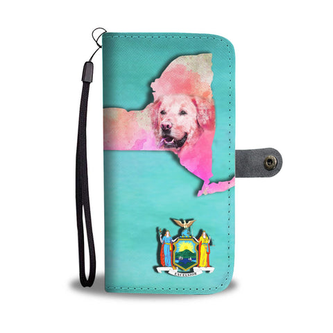 Labrador Dog Art Print Wallet Case-Free Shipping-NY State