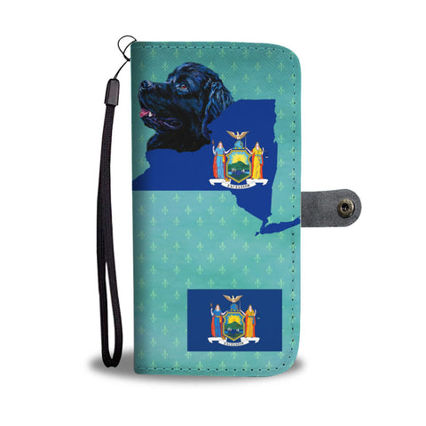 Newfoundland Dog Print Wallet Case-Free Shipping-NY State