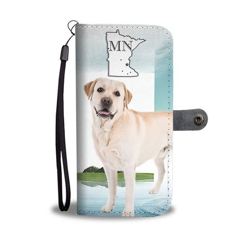 Labrador Retriever Print Wallet Case-Free Shipping-MN State