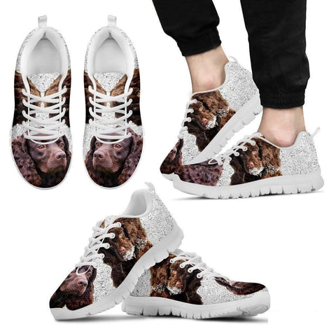 American Water Spaniel Running Shoes For Men-Free Shipping Limited Edition-Paww-Printz-Merchandise