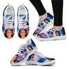 Gerardette's Daughter Print Running Shoe- Free Shipping-Paww-Printz-Merchandise