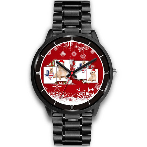 Norwich Terrier Texas Christmas Special Wrist Watch-Free Shipping