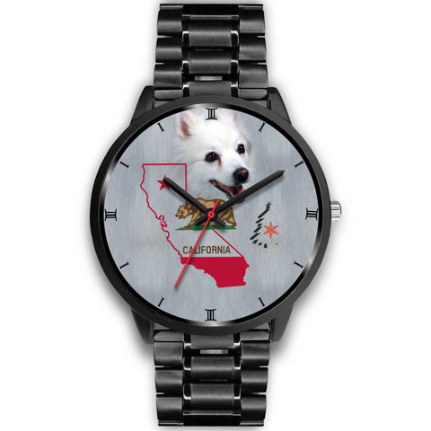 American Eskimo Dog California Christmas Special Wrist Watch-Free Shipping
