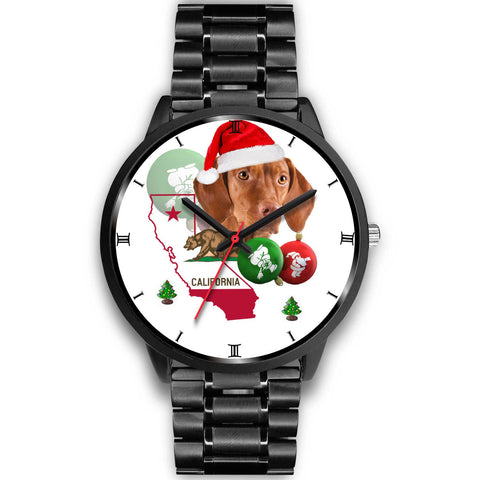 Vizsla Dog California Christmas Special Wrist Watch-Free Shipping
